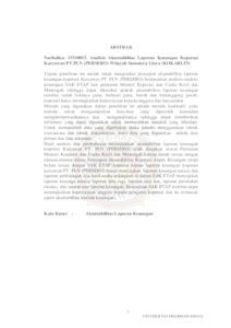 Analisis Akuntabilitas Laporan Keuangan Koperasi Karyawan Pt Pln Persero Wilayah Sumatera Utara Kokarlin Repository Universitas Dharmawangsa Medan